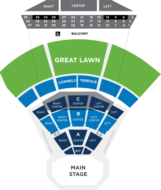 Seating chart the mann center the venue pinterest seating