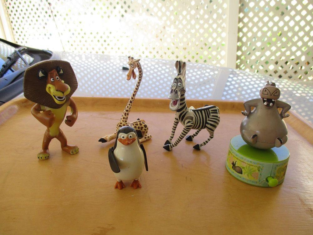 Madagascar Character Plush Toys Gloria Penguin Marty Alex Melman Julien Xmas Toy