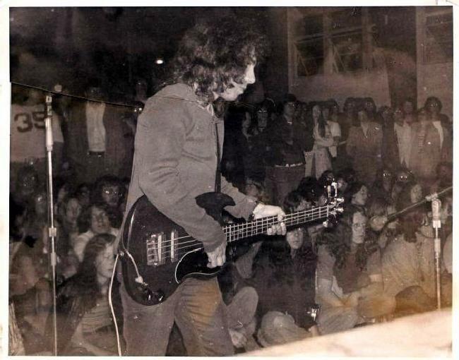 Dio - (elf)- 1972 on bass