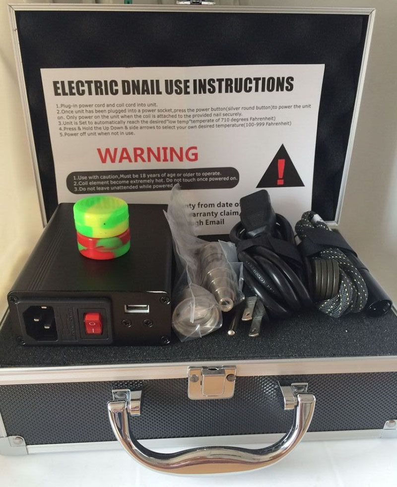 Factory direct sale Cheap Smart E nail Dnail Kit Heating Coil PID TC ...