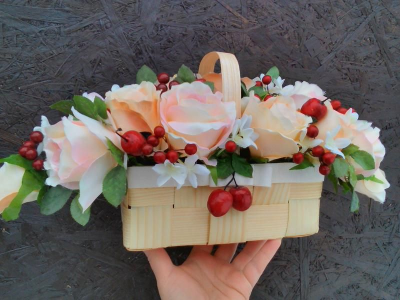 Как сделать рамку из живых цветов 35