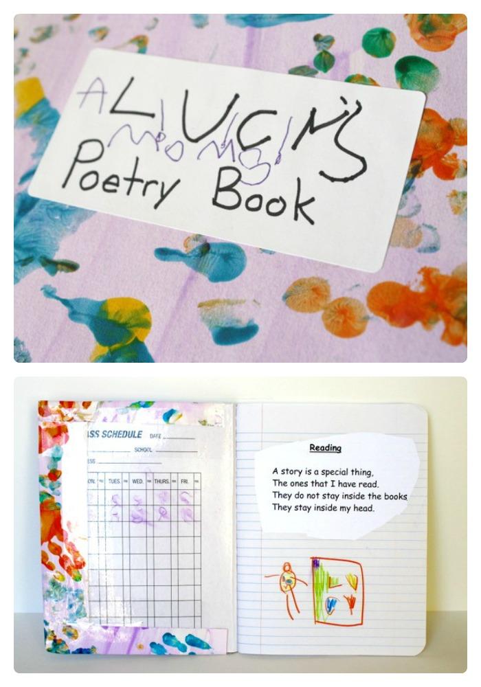 Diy Kids Poetry Book Poetry For Kids Poetry Journal Homeschool Language Arts