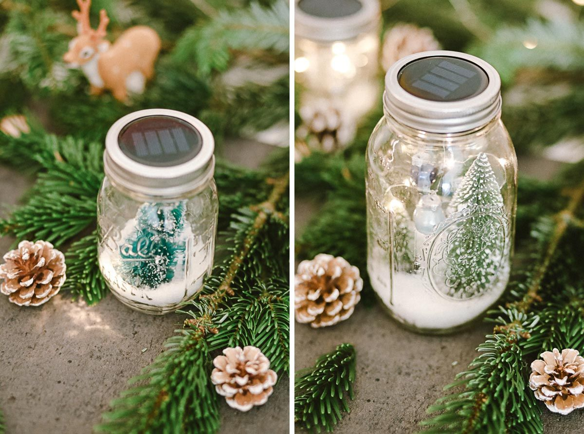 44+ Dekoideen weihnachten im glas Sammlung