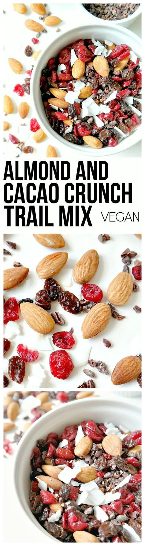 Almond Cacao Crunch Trail Mix