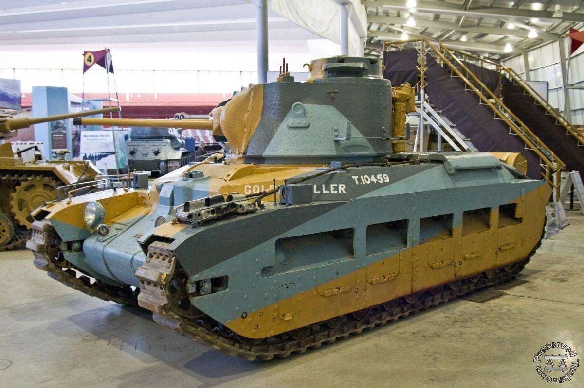 A12 Infantry Tank Mark Ii Matilda Ii   The Tank Museum