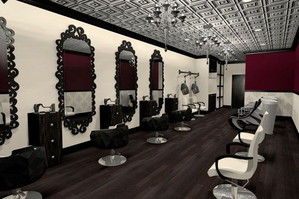 Vanessa Deleon Associates Interior Design Hair Salon Design Salon Design Hair Salon Decor