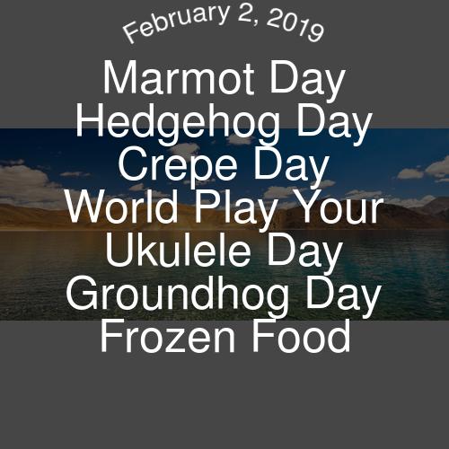 Pride Day, Hedgehog Day, National Holidays