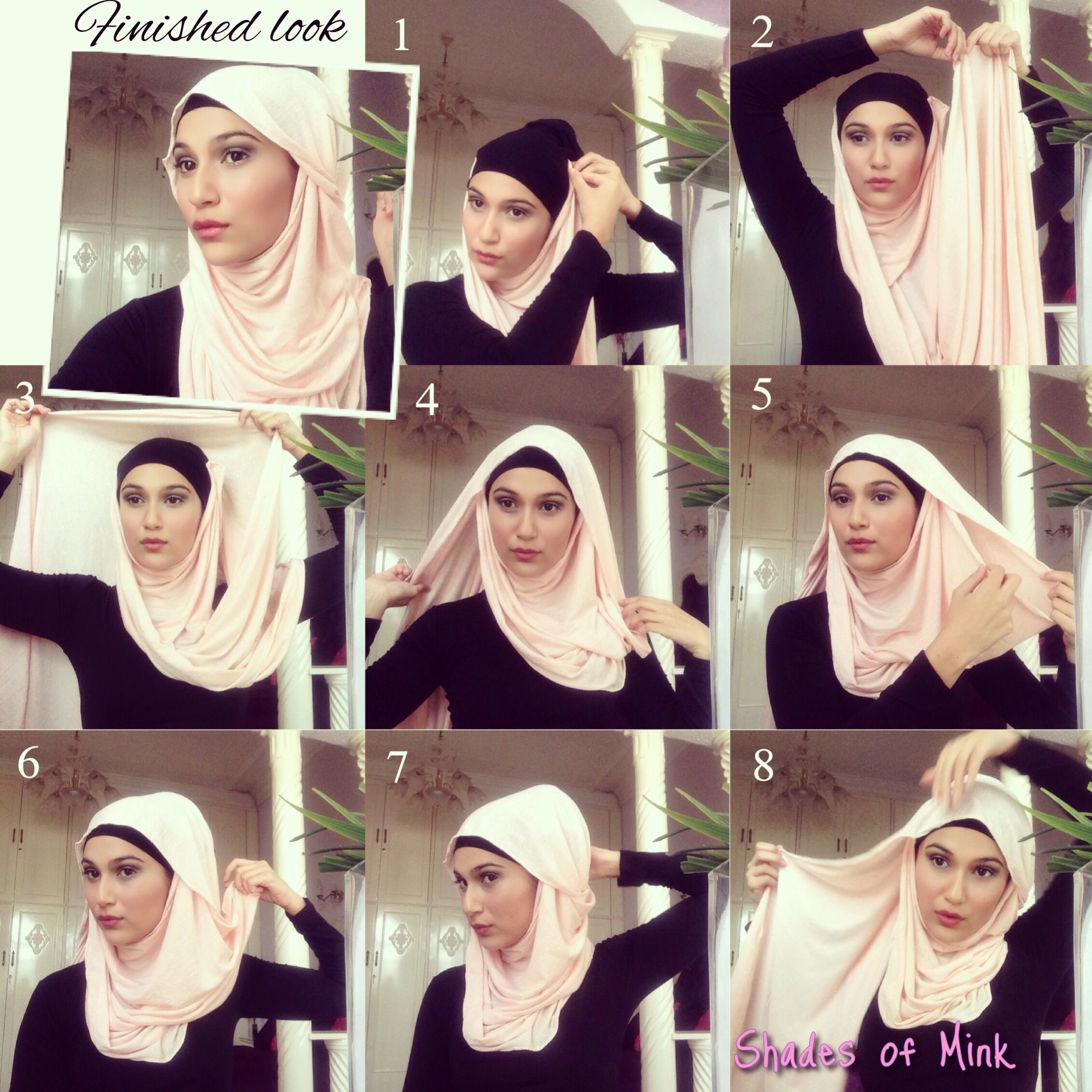 Dina Tokio Hijab Tutorial White Scarf Red Shoes Dina Toki O