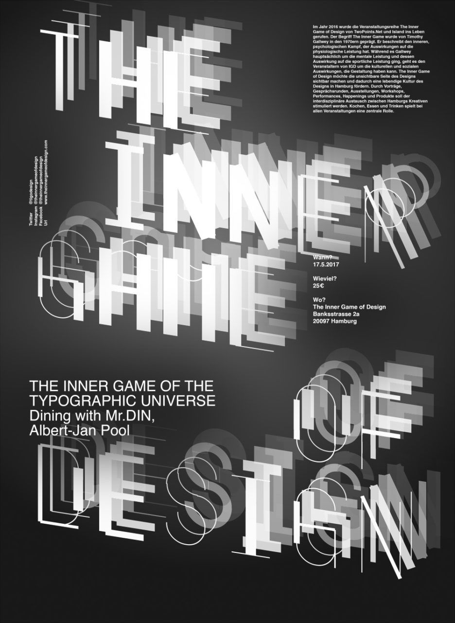 Poster design for architecture - Poster Layout And Design Typography Graphicdesign The Inner Game Of Design