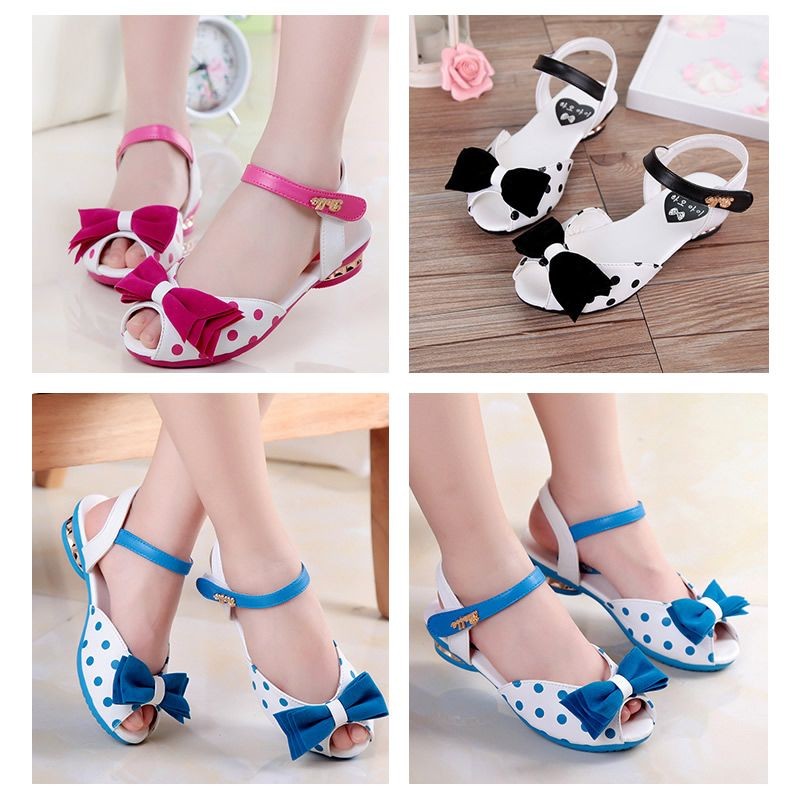 09531e6fbf6b4 ... Click to Buy 2017 New Fashion Baby Girl Infant Toddler Children Polka  promo codes b6d2a dd13b  Spring Girls Sandals Shoes ...