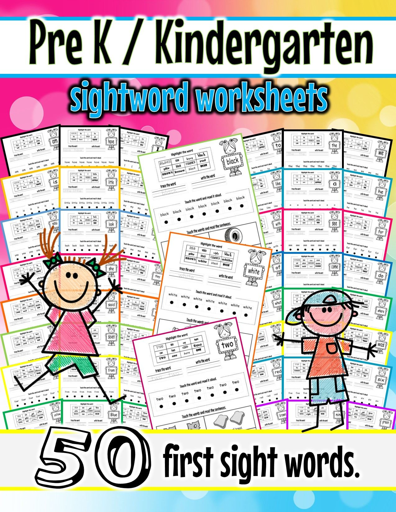 Sight Word Fun Pack