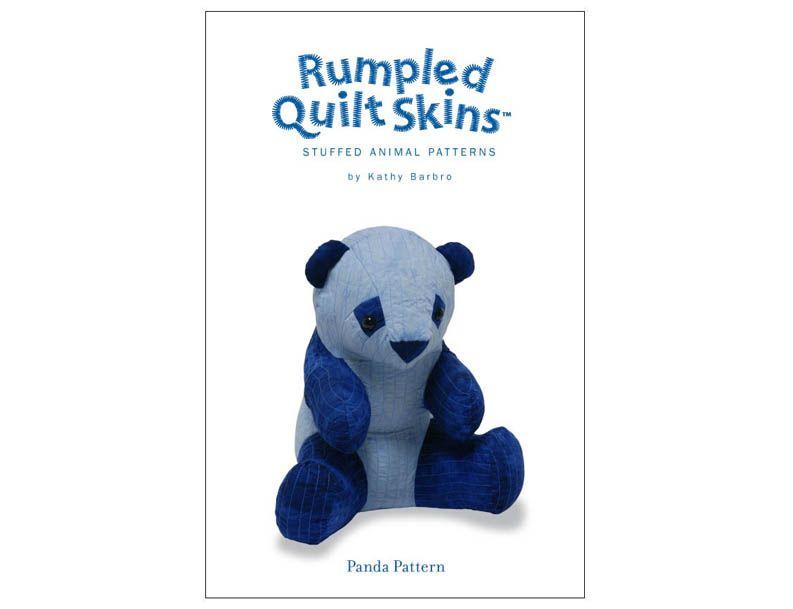 Rumpled Quilt Skins Panda Pattern | Stuffed Animals | Pinterest ... : rumpled quilt skins - Adamdwight.com