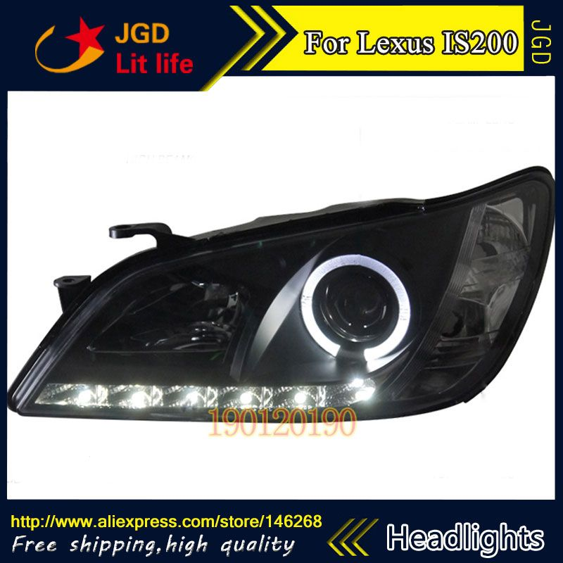Hid Led Headlights Headlamps Hid Hernia Lamp Accessory Products Case For Lexus Is200 Is300 1998 2005 Car Styling Lexus Led Headlights Headlights