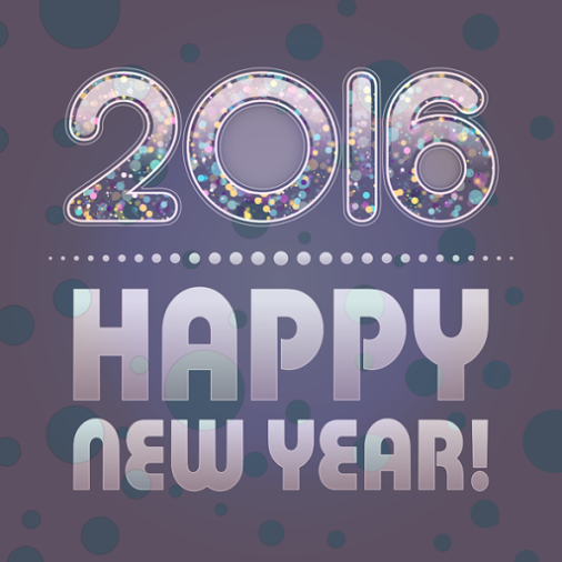 """From our homes to yours, Happy New Year! """"Let our New Year"""