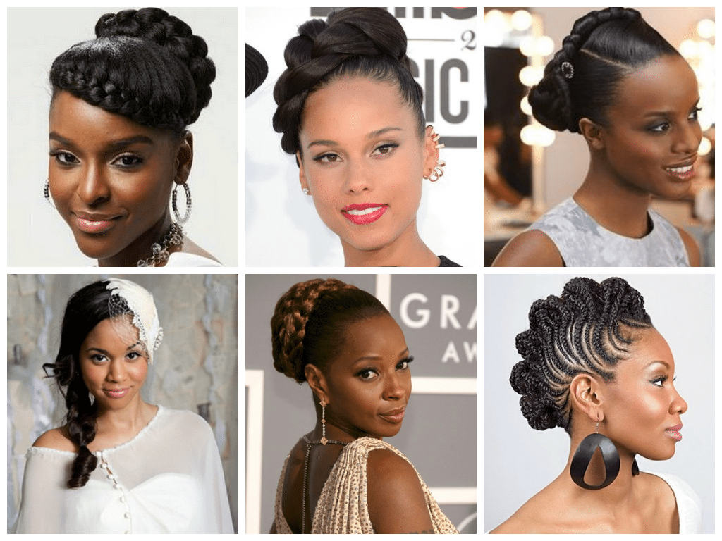 micro braids hairstyles for weddings 2018 - womenstyle