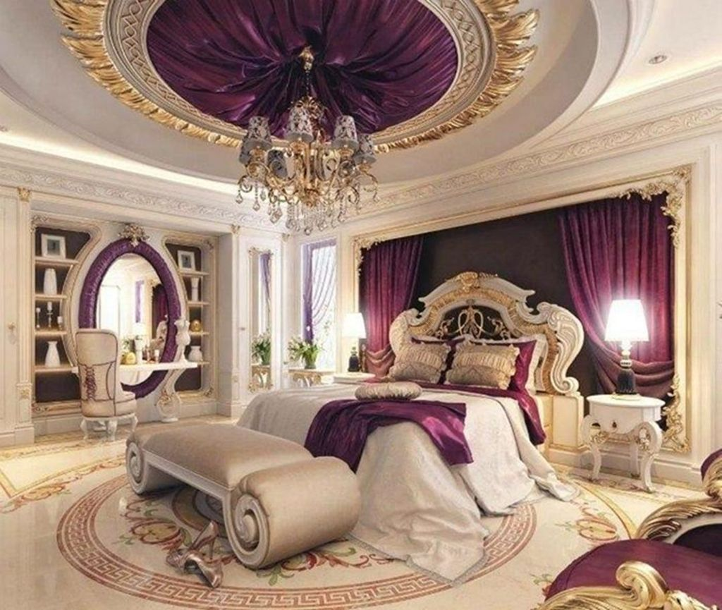 32 Nice Luxury Bedroom Design Ideas Looks Elegant | Luxury ...