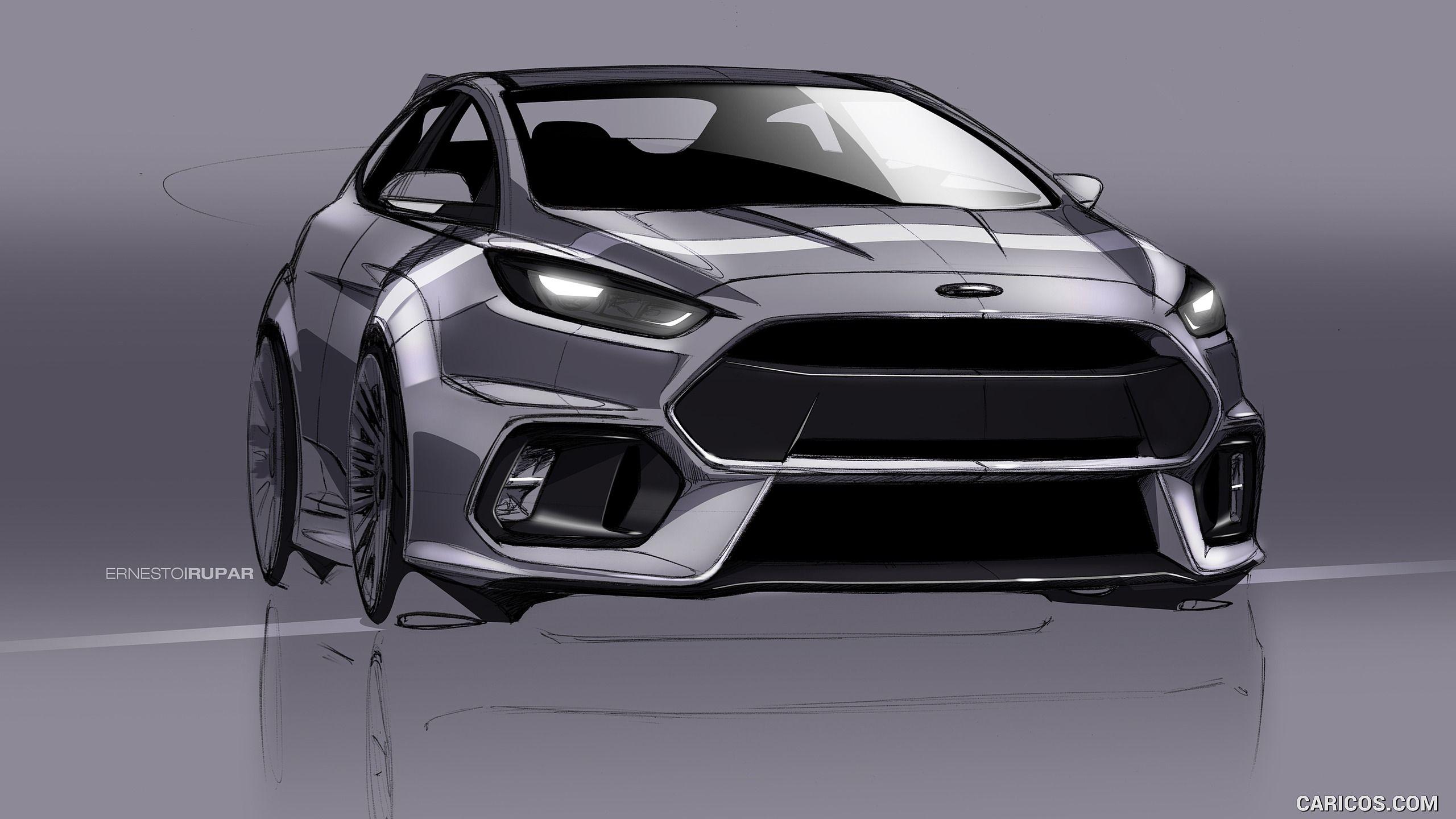 2016 Ford Focus Rs Wallpaper カーデザイン プロダクトデザイン