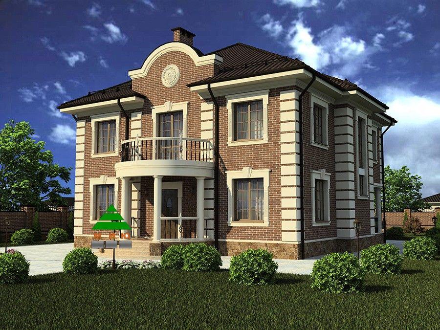 должно красивый проект двухэтажного дома фото помню как называется