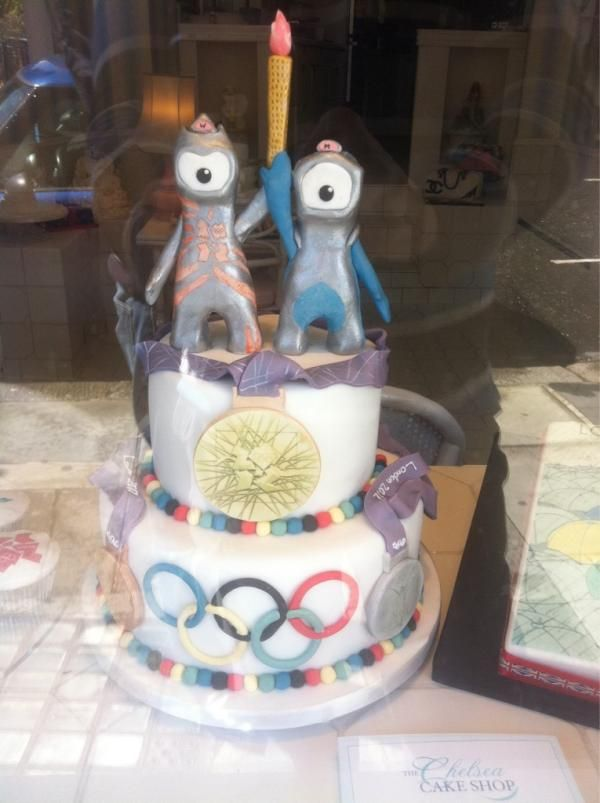 Twitter / colinjustin: Olympic Cake porn. Fancy a ...