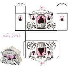 Free Princess Carriage Template