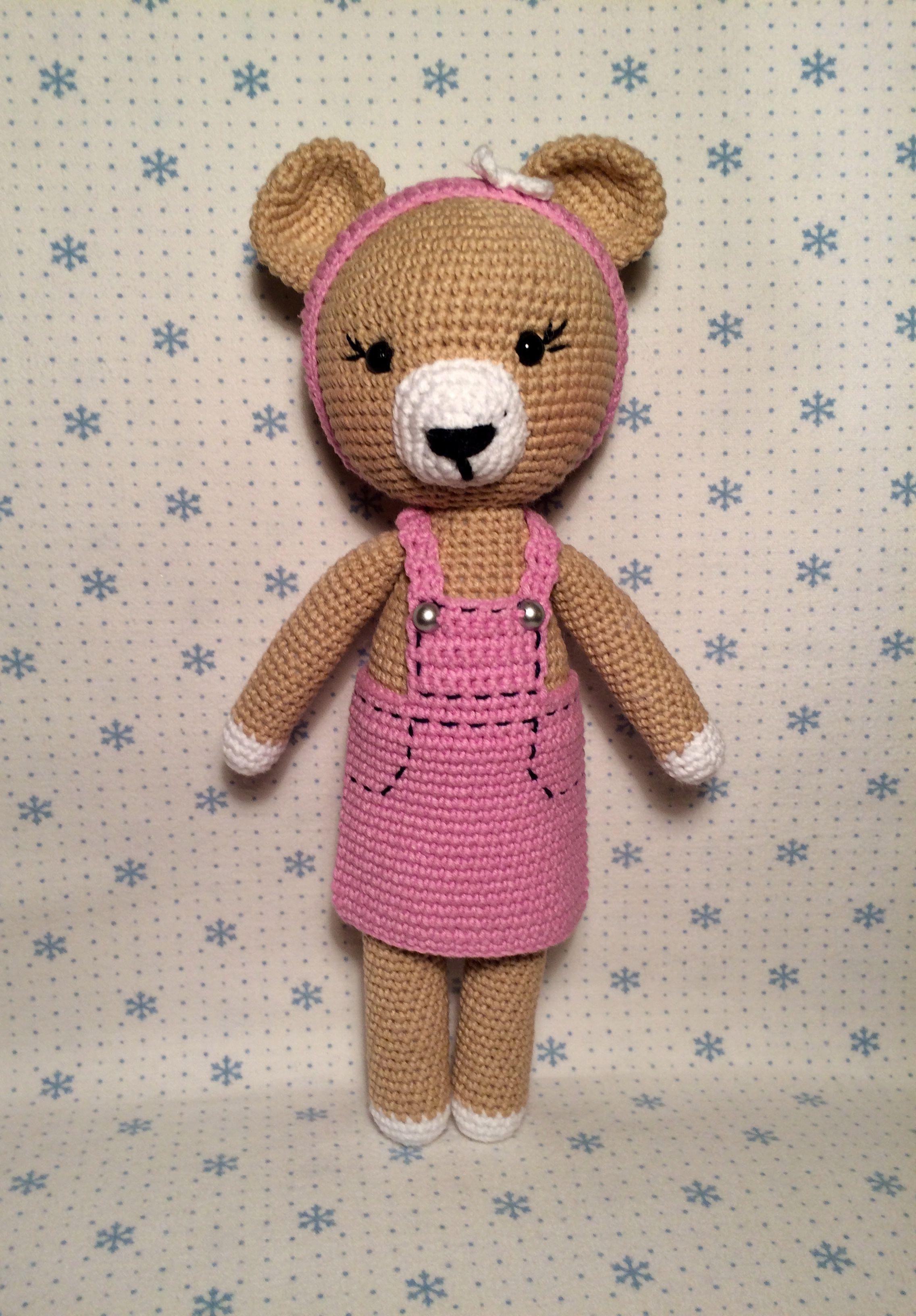 Amigurumi Pembe Ayıcık Yapılışı | Ayıcık, Teddy bear, Amigurumi ... | 3264x2272