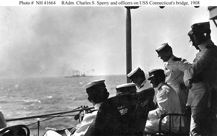 """Rear Admiral Charles S. Sperry, USN, Commander in Chief, U.S. Atlantic Fleet 