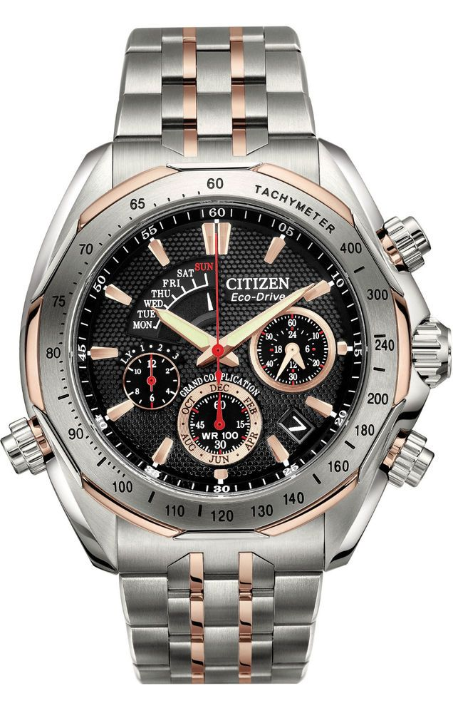 New Citizen Signature BZ0016-50E Grand Complication Men's Watch NEW IN BOX #CitizenEcoDrive #Casual