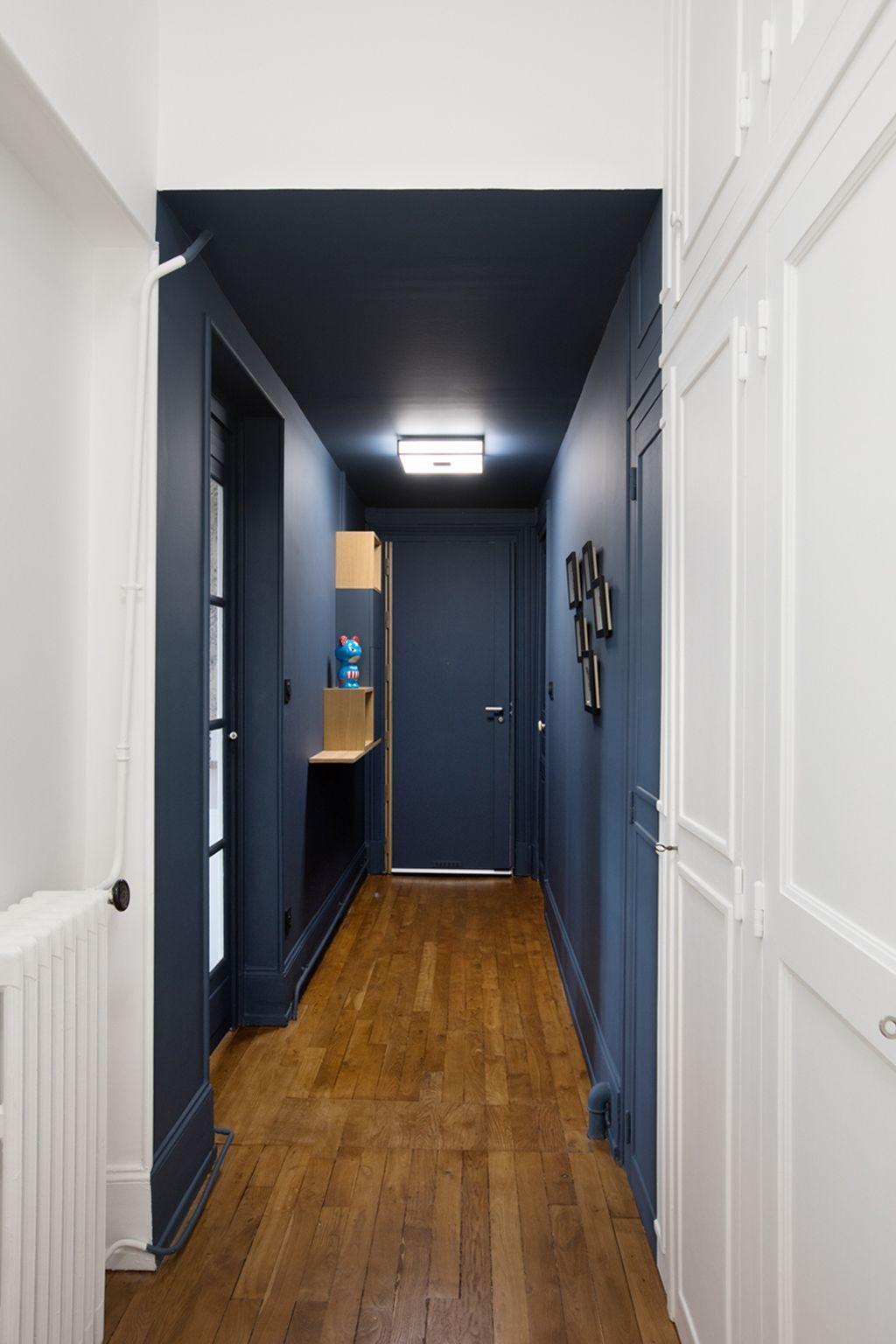 22 Яркие Прихожие, которые вы захотите себе | Длинный коридор