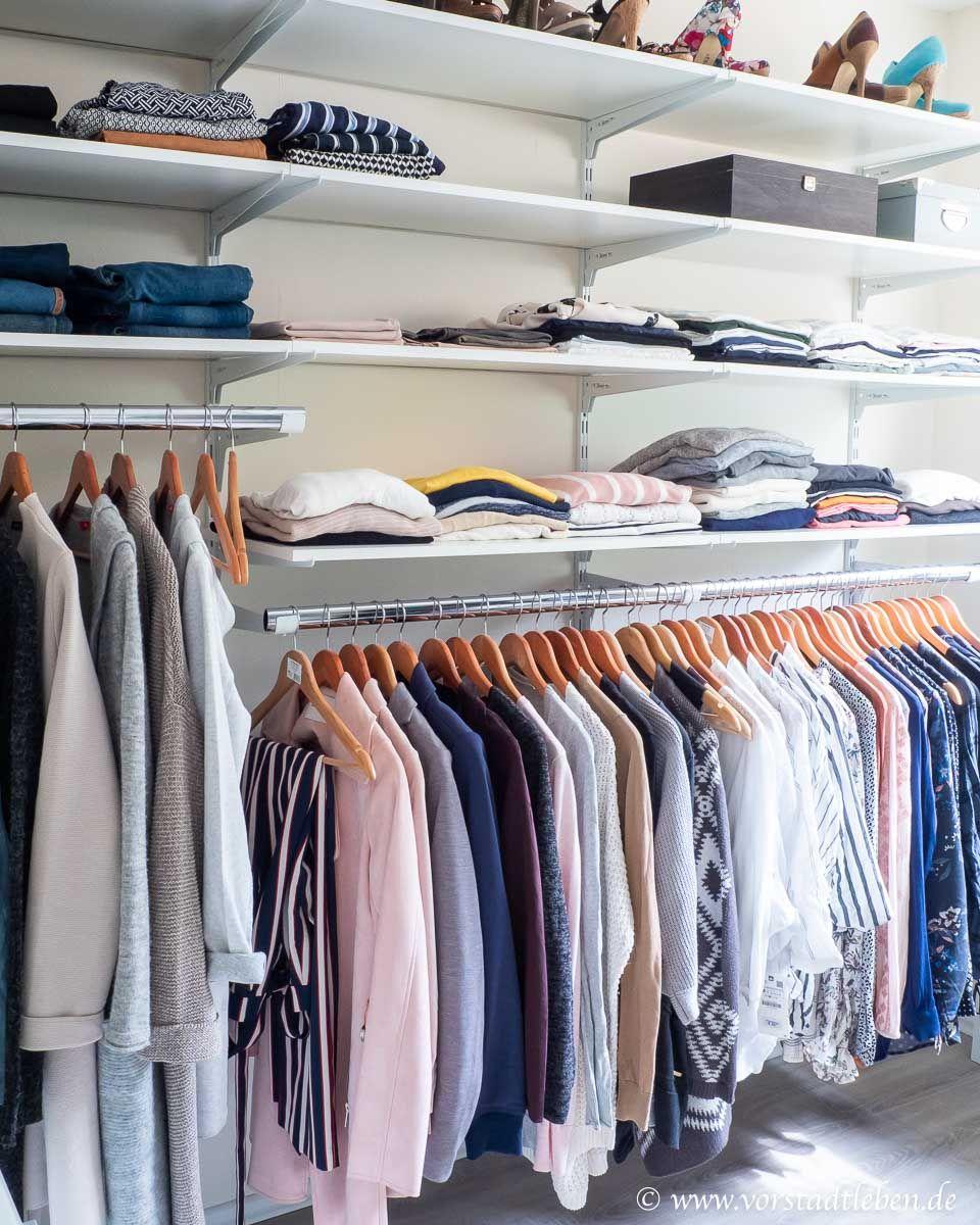 Ankleidezimmer – begehbaren Kleiderschrank planen und einrichten