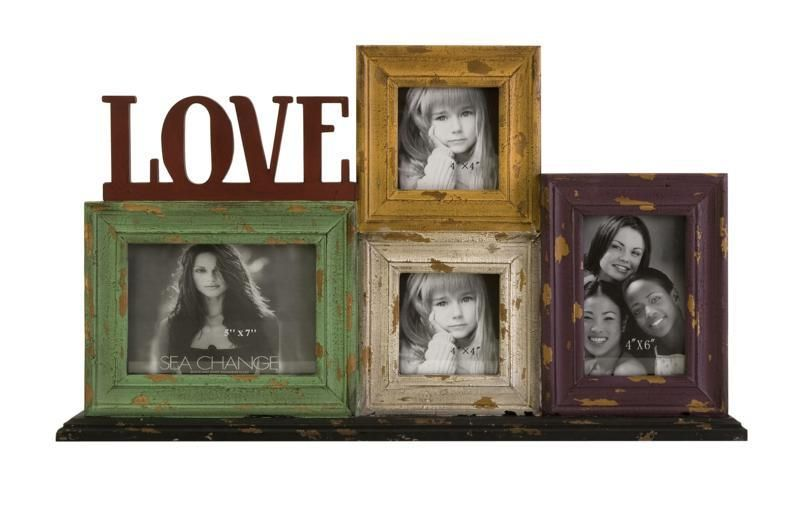 Love Frame Collage - The Love collage frame brings a fun and unique ...
