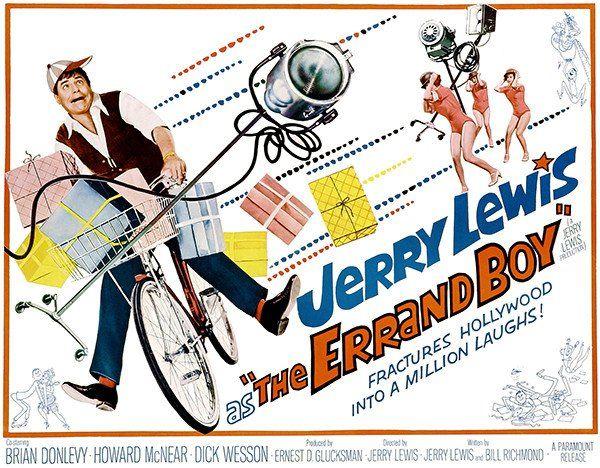 The Errand Boy - 1961 - Movie Poster