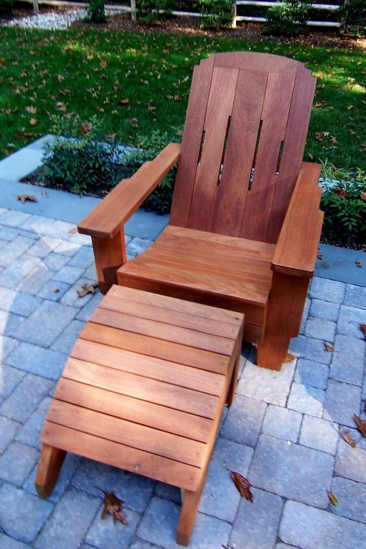 modern adirondack chair plans free