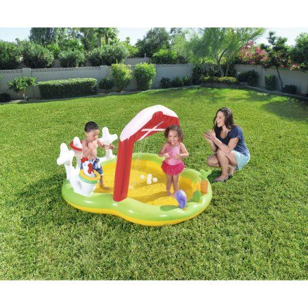 Photo of H2OGO! Lil' Farmer Inflatable Play Center – Walmart.com