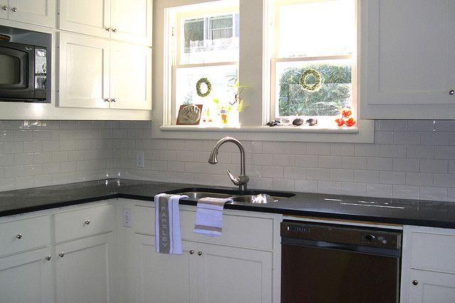 Subway Tile Backsplash Biscuit Color Open Concept Kitchen And Cool Kitchen With Subway Tile Backsplash Concept