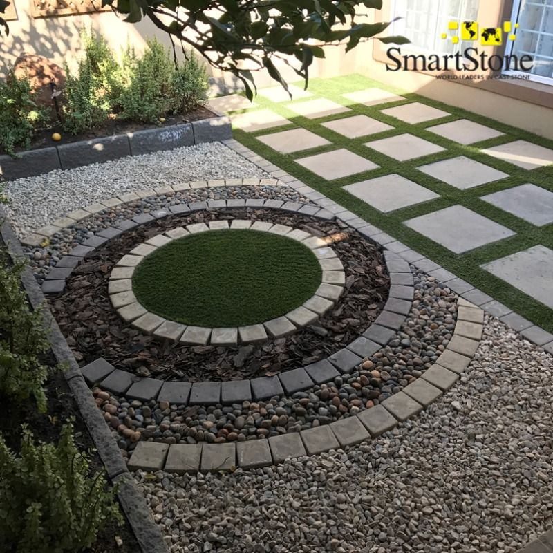 SmartStone's wide range of flagstones can be used to create 'eye-saws' in an outdoor living space. They're easy to install and are awaiting your collection.  #SmartStoneSA #Paving #PavingIdeas #LandscapingProducts #Pavers #Flagstones #Hardscaping #Landscaping #GardenLandscaping #DIYGardenDesign