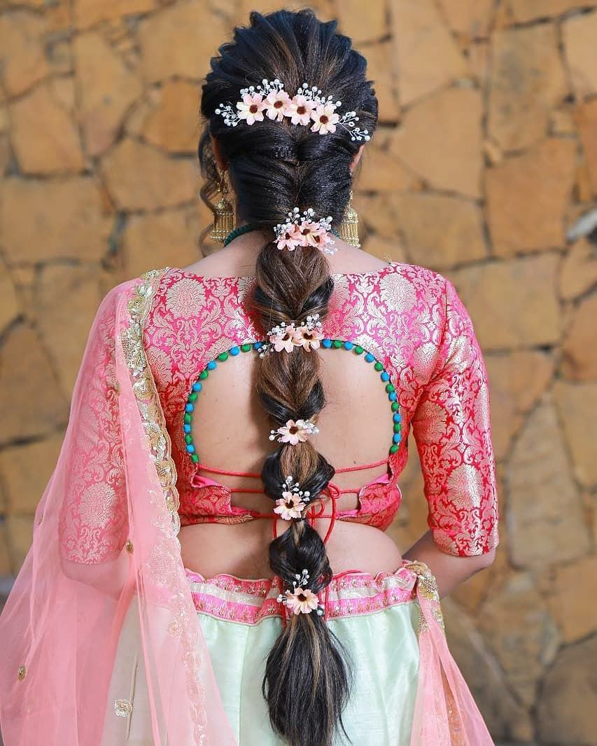 Indian Bridal Hairstyle Photos Wedding Photos Sharing Shaadi Plans In 2020 Indian Hairstyles For Saree Hair Styles Indian Wedding Hairstyles