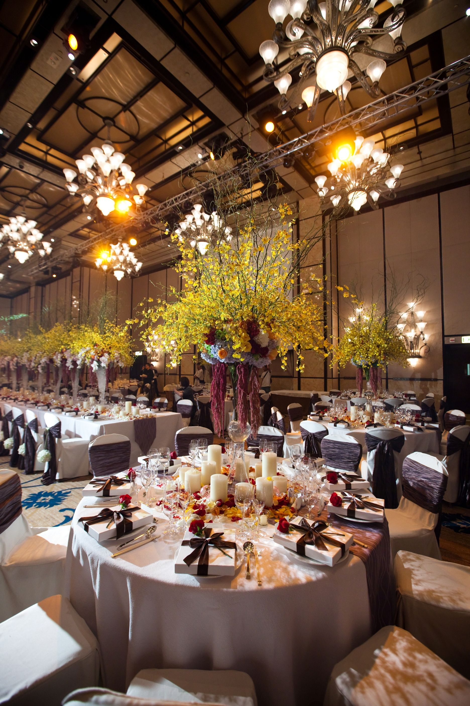 Four Seasons Hong Kong A Nagy Bálterem Dekorációja Ki Mondta Hogy Szállodában Nem Lehet Szép Esküvőt Szervezni
