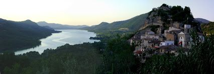 #Lake  of #Bomba  - #panoramic  view from #Pietraferrazzana - #AbruzzoRuralProperty - #Google+