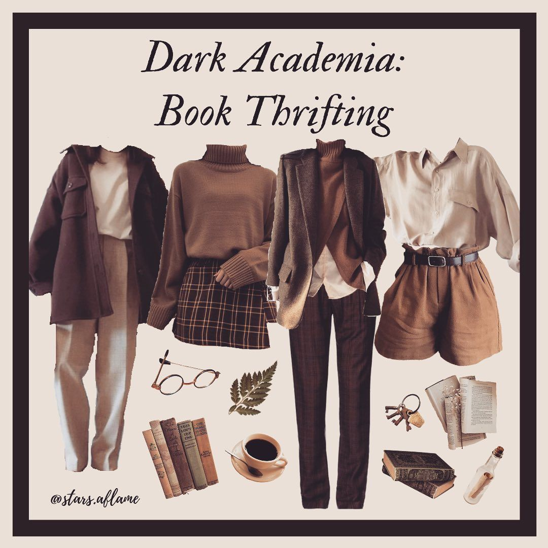 Lynne Dark Academia On Instagram I Love Book Thrifting Because You Can Almost Always Get Classics That Are In 2020 Aesthetic Clothes Fashion Fashion Inspo Outfits