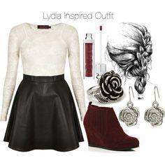 lydia martin outfits - Google Search                                                                                                                                                     Mais
