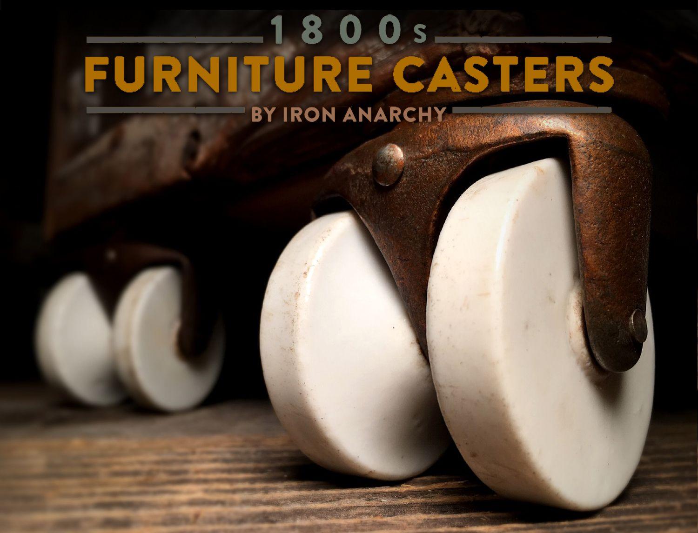 Antique Porcelain Casters Furniture Casters Antique Furniture Painting Wooden Furniture