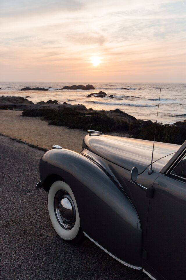 Taking In A Gorgeous West Coast Sunset With Ken Austin S 1941 Lincoln Continental Tbt