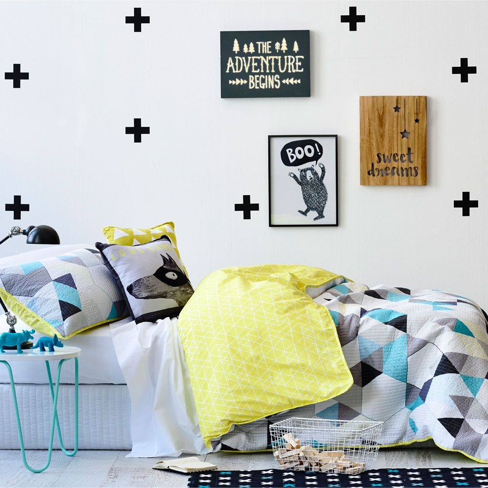 Adairs Kids Boys Lone Bandit - Bedroom Quilt Covers & Coverlets ... : kids quilt cover - Adamdwight.com