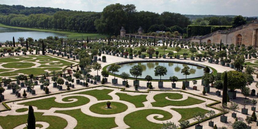 Andr le notre jardin de l 39 orangerie versailles louis xiv louis xiv architecture - Les jardins de l orangerie ...