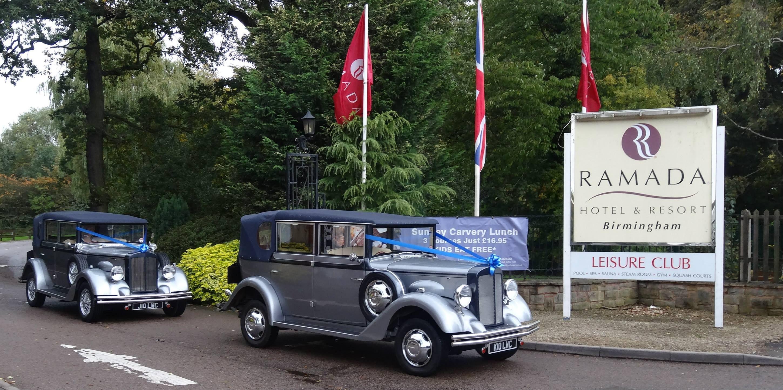 Silver wedding car hire to Ramada Birmingham. | Silver Wedding Cars ...