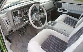 454 ss truck interior