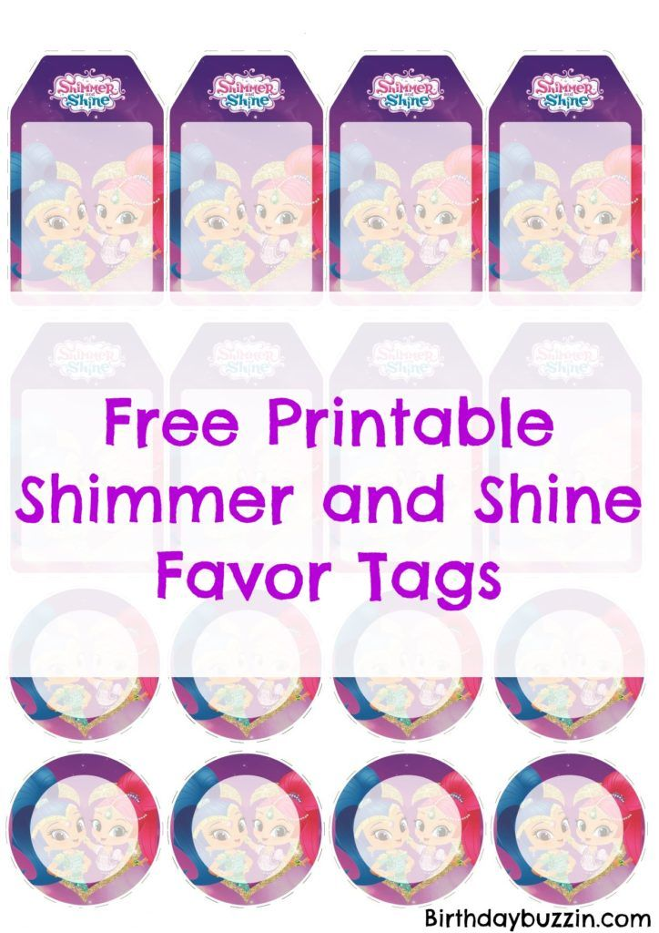 This is an image of Printable Party Favor Tags throughout cupcake toppers