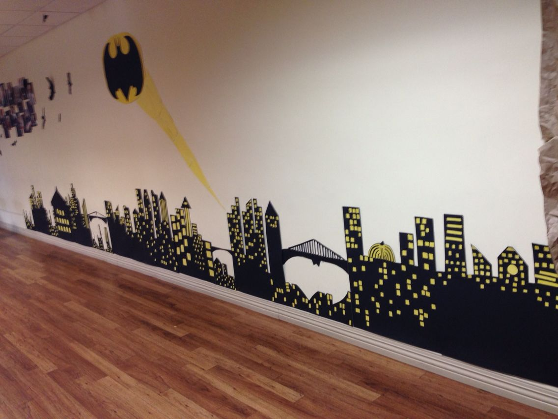 Gotham city poster boards and construction paper batman theme gotham city poster boards and construction paper batman theme amipublicfo Gallery