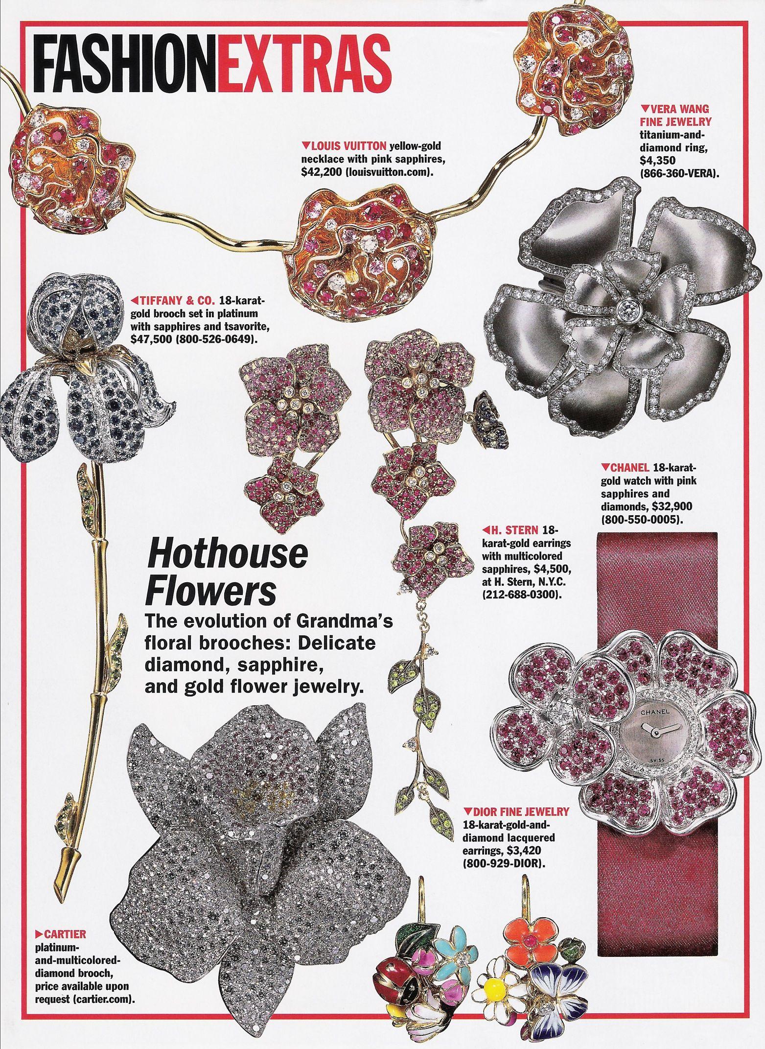 Allure Magazine Fashion Extras Hothouse Flowers Magazine