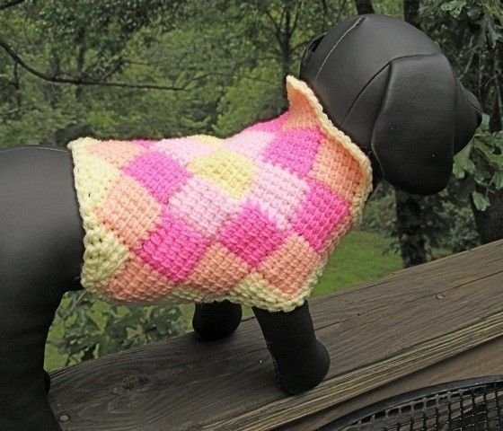 Immediate Download - PDF Crochet Pattern for The Harlequin Dog ...